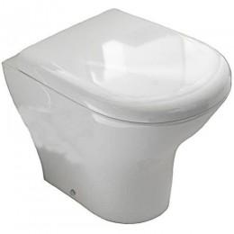 Sapho AQUATECH WC mísa 36,5x42x55cm, spodní/zadní odpad ( 371601 )