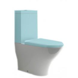 Sapho AQUATECH WC kombi mísa 36,5x42x65cm, spodní/zadní odpad ( 371701 )