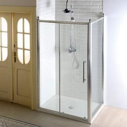 Antique obdelníkový sprchový kout 1400x1000mm L/P varianta chrom