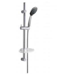 Sapho ALEX sprchová souprava s mýdlenkou, posuvný držák, 810mm, chrom