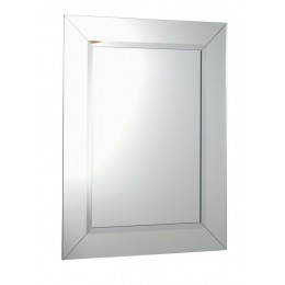 Sapho ARAK zrcadlo s lištami a fazetou 60x80cm