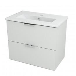 Sapho ALEXIS umyvadlová skříňka 59x50x35cm, bílá pololesk