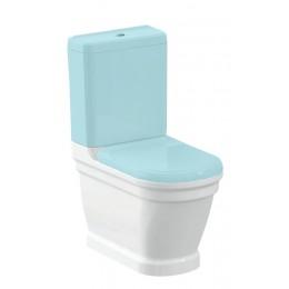 Sapho ANTIK WC mísa kombi, zadní odpad, 37x63 cm