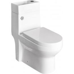 GAVI WC kombi mísa snádržkou včetně PP sedátka, zadní odpad