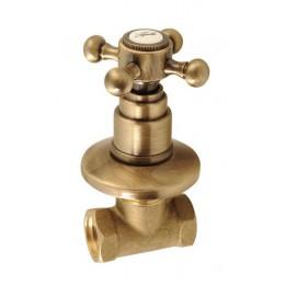 ANTEA podomítkový ventil, studená, bronz