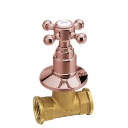 ANTEA podomítkový ventil, studená, růžové zlato