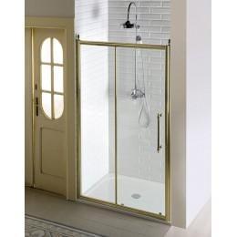 ANTIQUE sprchové dveře, posuvné,1400mm, čiré sklo, bronz