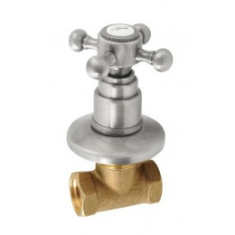 ANTEA podomítkový ventil, studená, nikl