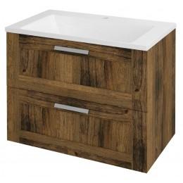 Sapho AMIA umyvadlová skříňka 74,5x60x45cm, dub Collingwood