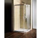 AKCE čtvrtkruhová sprchová zástěna 900x900x1900mm, čiré sklo ( AG4290 )