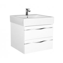Koupelnová skříňka s umyvadlem - závěsná