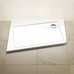 Vanička asymetrická 120x90 L 10° White, Ravak, XA25G70101L
