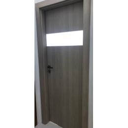 Dveře Vertigo + 20 70/L dub bělený 3D